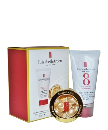 Elizabeth Arden Eight Hour Cream Skin Protectant 30ml Ceramide Daily Youth Restore Capsules X7