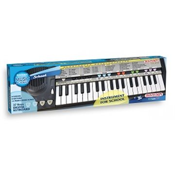Bontempi Mini keyboard 37 tangenter +5år. 44x12x45 cm