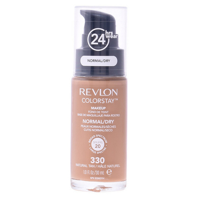 Flydende Makeup Foundation Colorstay Revlon 240 - Medium Beige - 30 ml