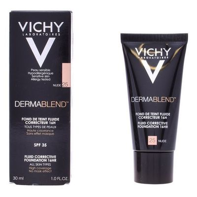 Flydende Makeup Foundation Dermablend Vichy 55 - bronze 30 ml