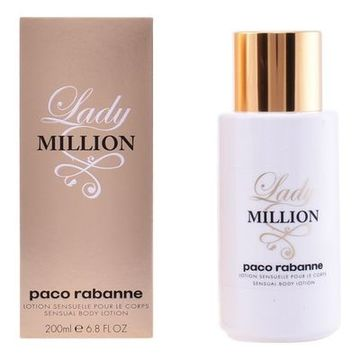 Bodylotion Lady Million Paco Rabanne (200 ml)
