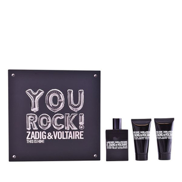 Parfume sæt til mænd This Is Him! You Rock! Zadig & Voltaire (3 pcs)