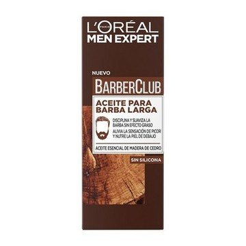 Olie til Skæg Men Expert Barber Club L'Oreal Make Up (30 ml)