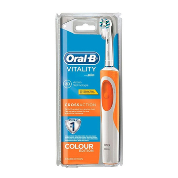 Escova de Dentes Vitality Cross Action Oral-B Orange