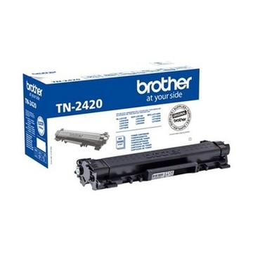 Original toner Brother TN2420 Sort