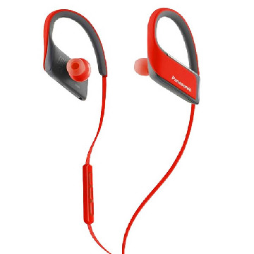 Bluetooth sports headset med mikrofon Panasonic RP-BTS30E Rød