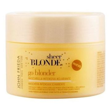 Afblegende hårmaske til blond hår Sheer Blonde John Frieda