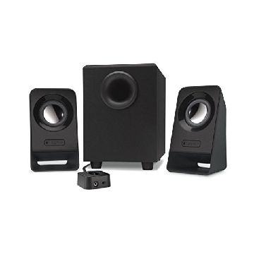 Multimedie-højtalere Logitech Z213 2.1 60W Subwoofer 200 mV Sort