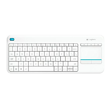 Trådløst tastatur Logitech 920-007138 Windows Android Smart TV QWERTY Hvid