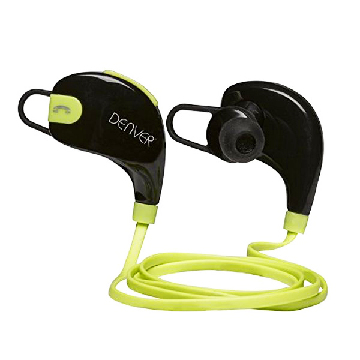 Bluetooth sportsheadset Denver Electronics BTE-100GREEN Sort Grøn