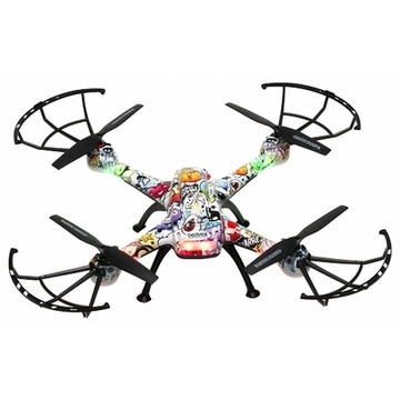 Drone Denver Electronics DCH-460 0,3 MP 2.4 GHz 650 mAh Multifarvet