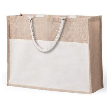Jute Bag 145725 (44,5 x 34 x 15 cm) Natural