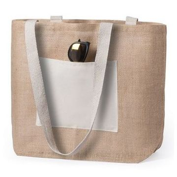 Jute Bag 145726 (48 x 35 x 15 cm) Natural