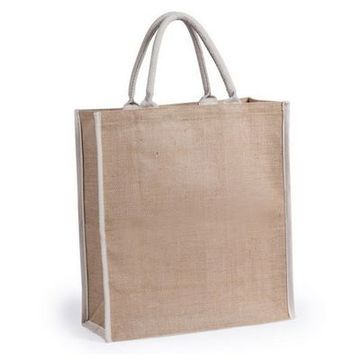 Jute Bag 145736 (38 x 42 x 16 cm) Natural