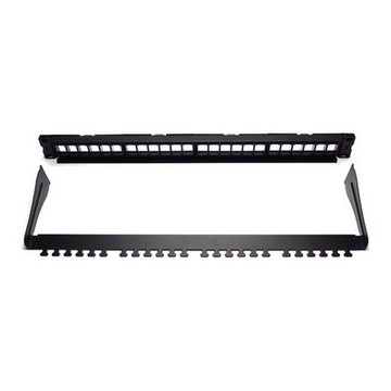 24-port UTP kategori 5e/6/6e Patch Panel WP WPC-PAN-BUP24 Sort