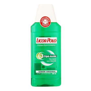 Anti-plak Mundskyllevand Licor Del Polo (300 ml)