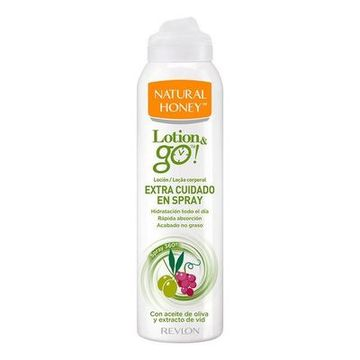 Ekstra Nærende Body Lotion Lotion & Go! Natural Honey (200 ml)