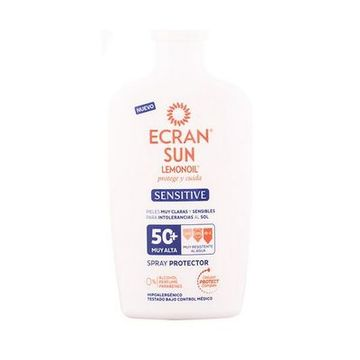 Solcreme spray Sensitive Ecran SPF 50+ (300 ml)