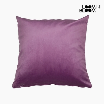 Pude Polyester Pink (45 x 45 x 10 cm) by Loom In Bloom