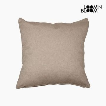 Pude Bomuld og polyester Brun (60 x 60 x 10 cm) by Loom In Bloom