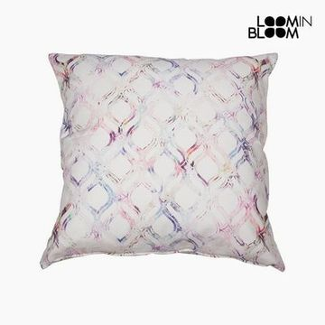 Pude Bomuld Pink (60 x 60 x 10 cm) by Loom In Bloom
