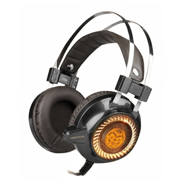 Gaming headset med mikrofon iggual KAIMATACHI Brun Orange