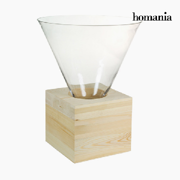 Borddekoration Glas Træ - Pure Crystal Deco Samling by Homania