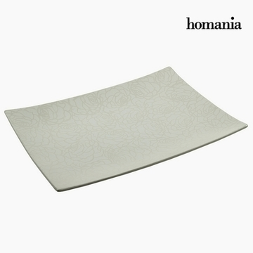 Borddekoration Keramik (49 x 36 x 6 cm) by Homania