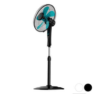 Fritstående ventilator Cecotec ForceSilence 520 Power 50W (Ø 40 cm) Sort