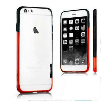 Bicolour Bumper Iphone 6 Plus X-ONE 109970 Sort Orange
