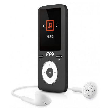 MP4-afspiller SPC Pure Sound Colour 2 8 GB Sort
