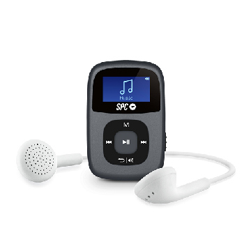 Mp3-afspiller SPC Sparrow 8648N 8GB RADIO WAV WMA Sort