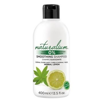 Blødgørende shampoo Herbal Lemon Naturalium (400 ml)