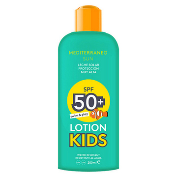 Solcreme Kids Swim & Play Mediterraneo Sun SPF 50 (200 ml)