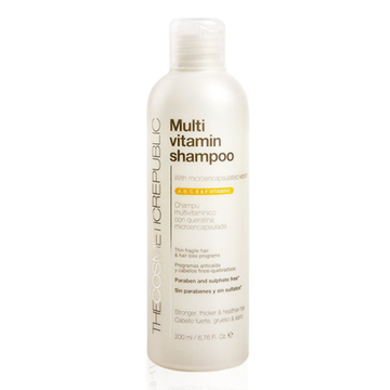 Forfriskende Shampoo Multi-vitamin The Cosmetic Republic (200 ml)