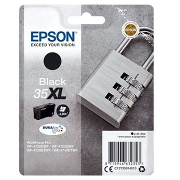 Original blækpatron Epson T3591XL Sort