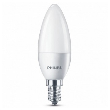 Candle LED Light Bulb Philips 5,5W A+ 240 V White
