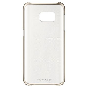 "Mobilcover Samsung Clear Cover EF-QG935 5.1"" Guld"
