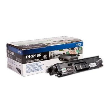 Original toner Brother TN321BK Sort