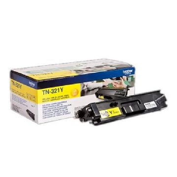 Original toner Brother TN321Y Gul