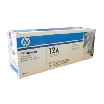 Original toner Hewlett Packard Q2612A Sort