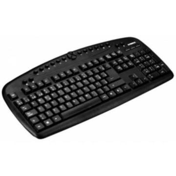 Tastatur og mus B-Move BM-TC01 1600 DPI Sort