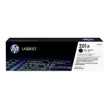 Original toner Hewlett Packard CF400A Sort