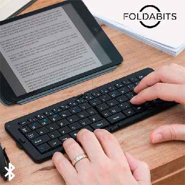 Foldabits Foldbart Bluetooth Keyboard