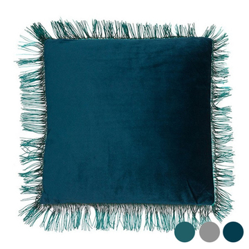 Pude Fringes (45 x 10 x 45 cm) Polyester Grøn
