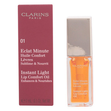 Fugtgivende læbepomade Eclat Minute Clarins 05 - Tangerine - 7 ml