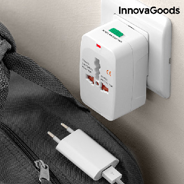 InnovaGoods Universal Rejseadapter