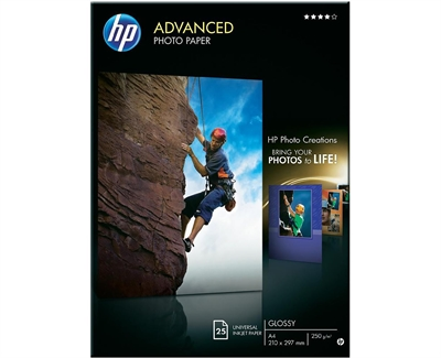 Hp Advanced Photo Paper A4 25 Ark 250G
