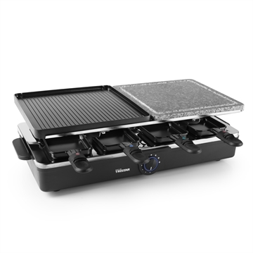 Tristar RA-2992 raclette grill 8 person(er) Aluminium, Sort 1400 W