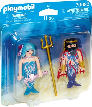 Playmobil King of the sea and Mermaid 70082